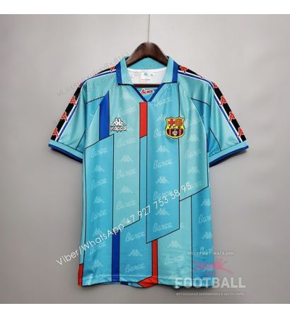 Футболка Барселона гостевая ретро 96/97