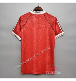 Футболка Манчестер Юнайтед домашняя ретро 90/92